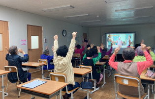 치매우울예방모임 '새솔교실' 5월 활동